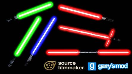 [DL] Star Wars Battlefront II Lightsabers V2 by Stefano96