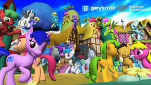 [DL] Background Ponies Enhanced Version