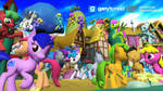 [DL] Background Ponies Enhanced Version