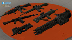 [DL] Random Stuff Refreshed #4 [Weapons (Props)]