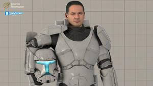 [DL]SW Battlefront II Enh. Clone Commando(Ragdoll)