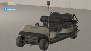[DL] CoD MW2 Remastered Airport Cart (Prop)