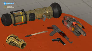 [DL] Serious Sam 4 Extra Weapons (Props)