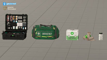 [DL] Serious Sam 4 Health Items (Props)