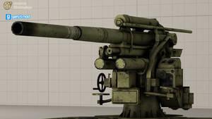 [DL] Call of Duty World At War Flak 88 (Prop)