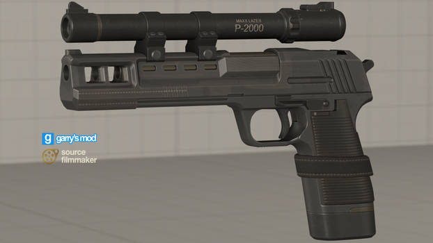 [DL] Call of Duty Black Ops CW Hand Cannon (Prop)