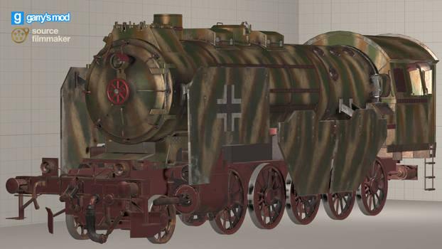 [DL] CoD WWII Panzerzug 61 [Locomotive (Prop)]