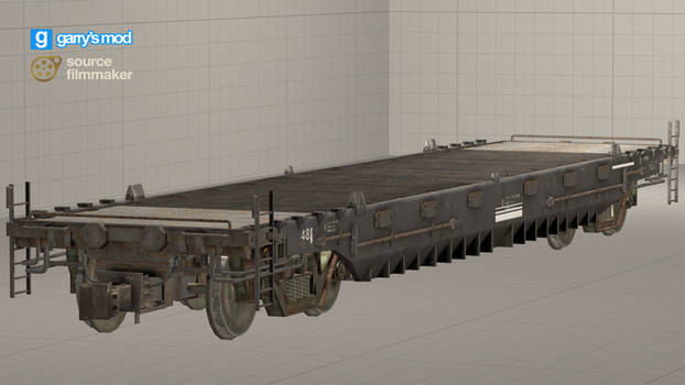 [DL] Call of Duty WWII Indian Train Flatbed (Prop)