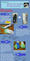 Footpaw Tutorial by KazelKloud