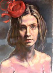 Tocado rojo by ivosirakov