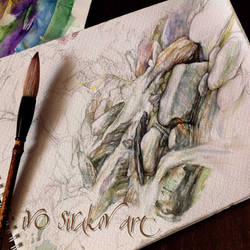 Rio Ivo Sirakov Art Web Watercolor by ivosirakov