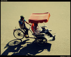 Pedicab in Ha Noi by LiLkAnI