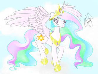 Princesa Celestia by CrisHelena