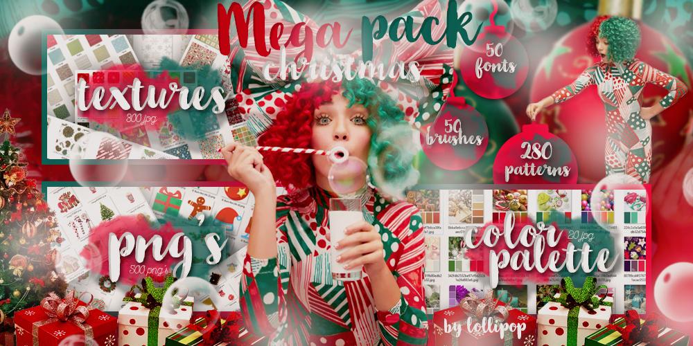 _MEGA PACK#4: CHRISTMAS_ by lollipop3103