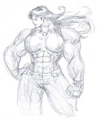 Shulkie Rough Sketch by parmaali