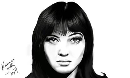 Anna Karina by kamran-julfa