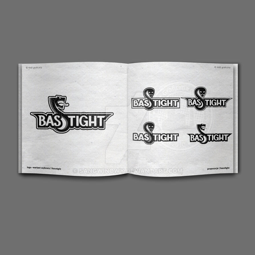BASSTIGHT - logo by sangwinowy