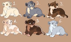 Lion Cub Adopt (3/6)