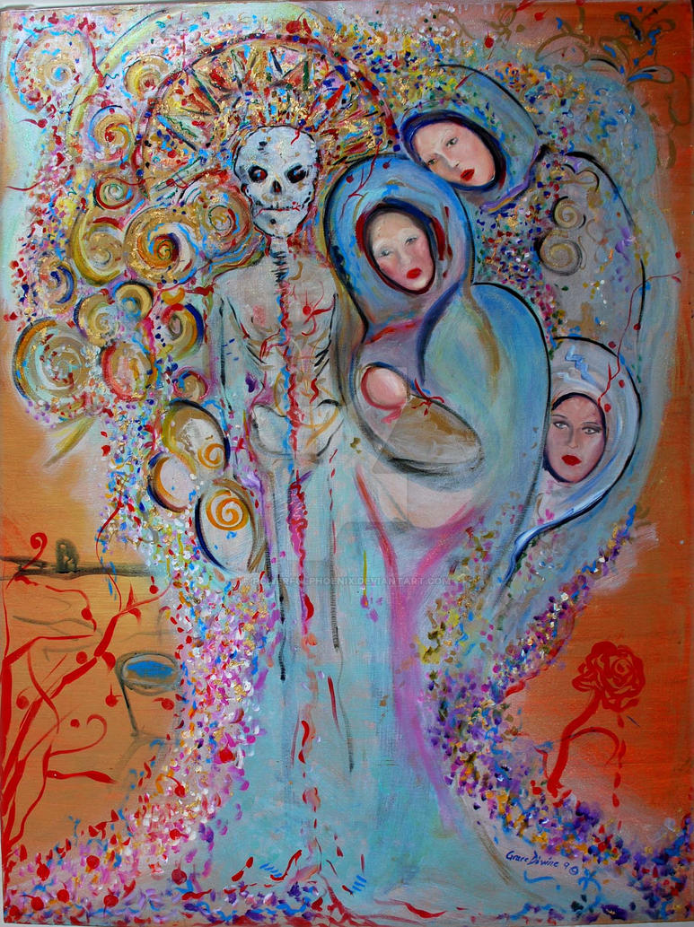 Day of the Dead Dia de Muertos by PowerfulPhoenix