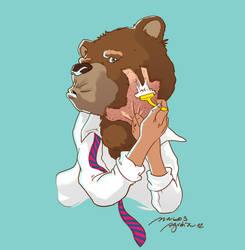 BEAR D by markosaz