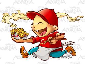 Personaje China Inn Express by markosaz