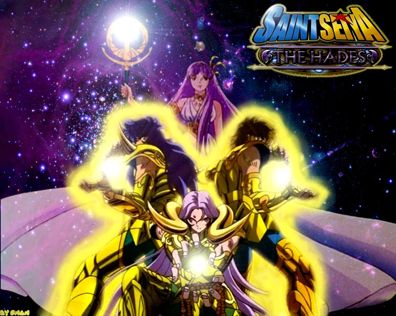 Saint Seiya wallpaper by beeshop-rocker on DeviantArt