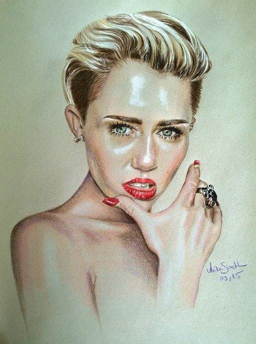 Miley by neonschwarz