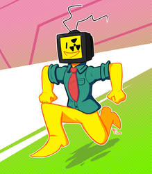 Don't trust the yellow man. by 90sFlume