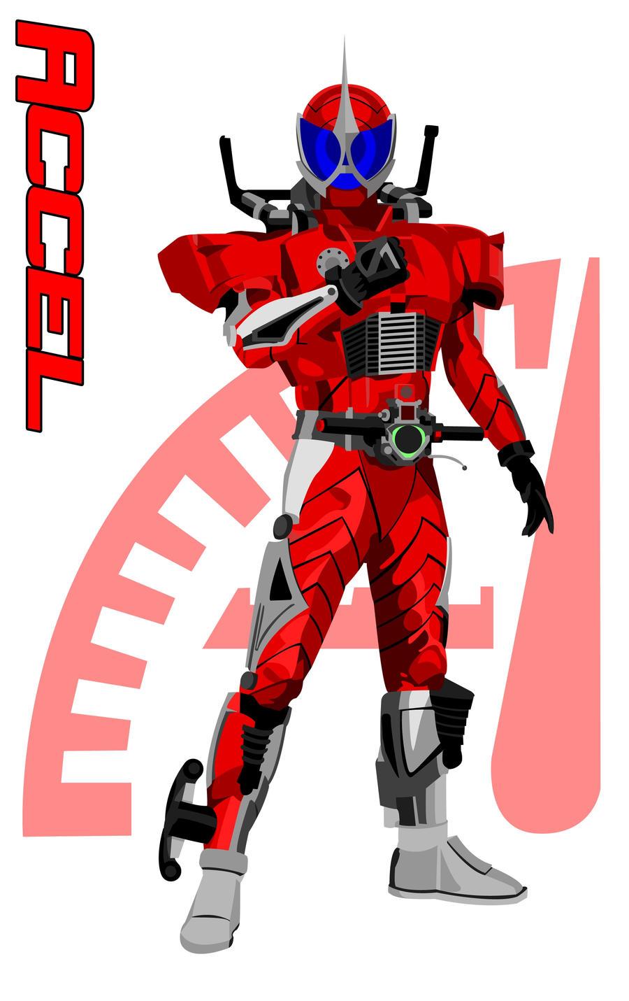 Image - Battride Wars Kamen Rider Accel.png   Kamen Rider ...  Kamen Rider Accel