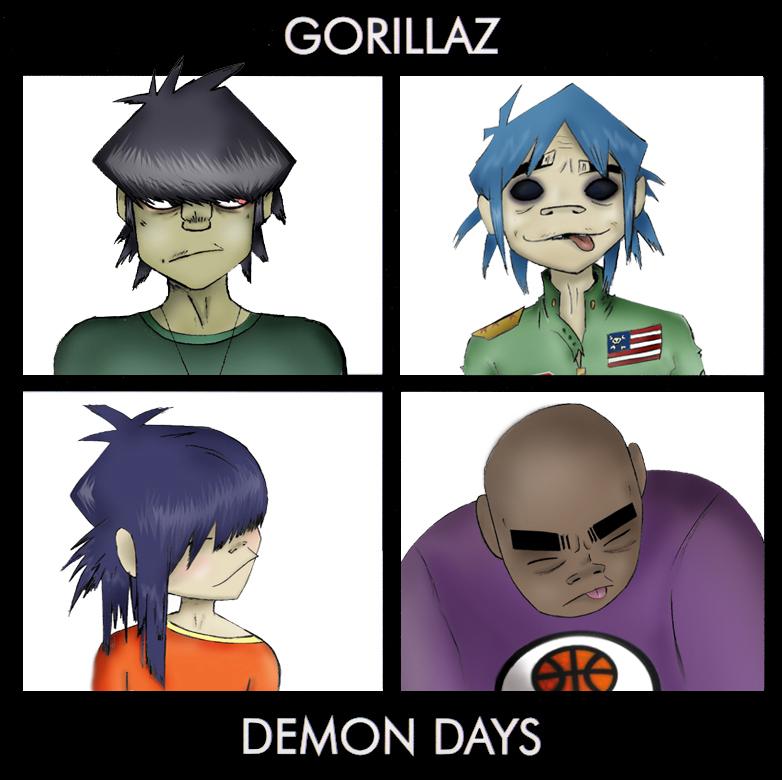 Murdoc Gorillaz Demon Days Getting nostalgic with...