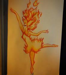 fire elemental by Major-Aks