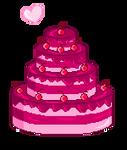 Cute Pixel Cake !