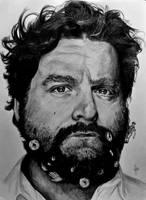 Galifianakis by Chunkybeefpainting