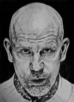 Drawing John Malkovich by Chunkybeefpainting