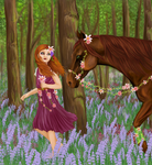 Flower Picking by PhoebeWood