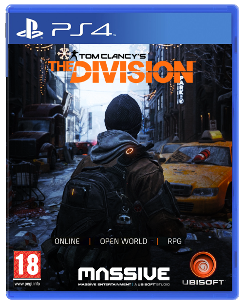 tom clancy 39 s the division ps4 cover by llcuffiej on deviantart. Black Bedroom Furniture Sets. Home Design Ideas