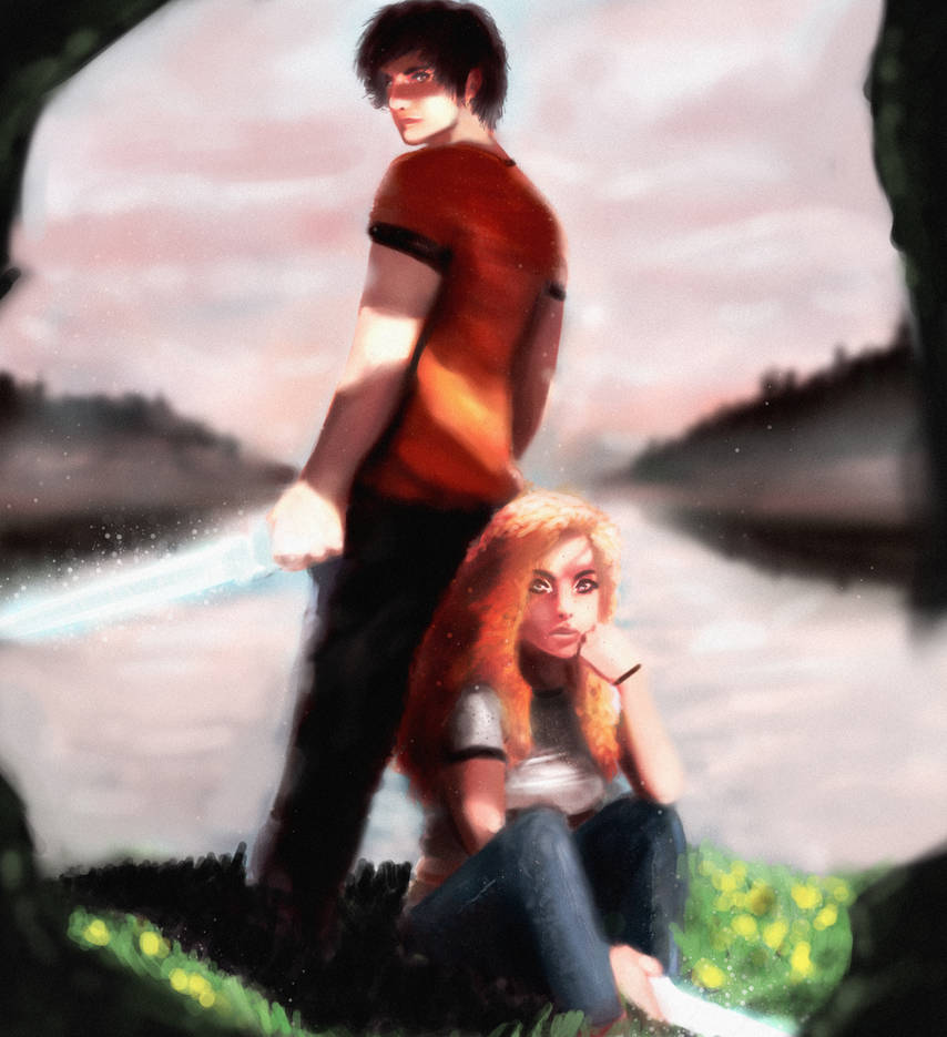 Percy and Annabeth-1 by offtosleep on DeviantArt