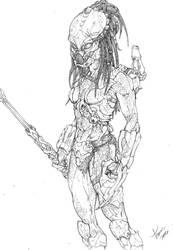 FEMALE PREDATOR by tdm-studios