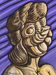 Lady Face by timebush