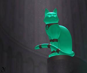 Chrysoprase Cat