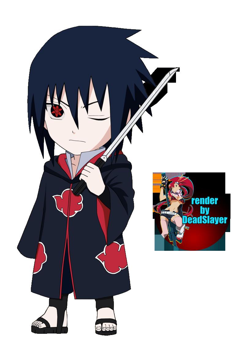 chibi sasuke akatsuki render by noamanga on DeviantArt