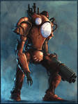 Steampunk Mech I