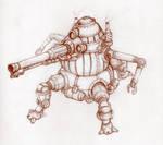 Steampunk mech II