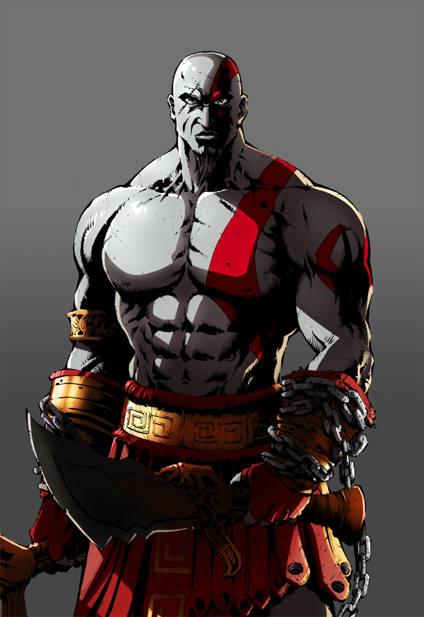 Kratos by likaspapaya