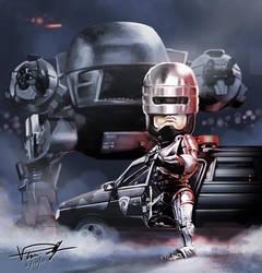 Robocop vs ED by vp021