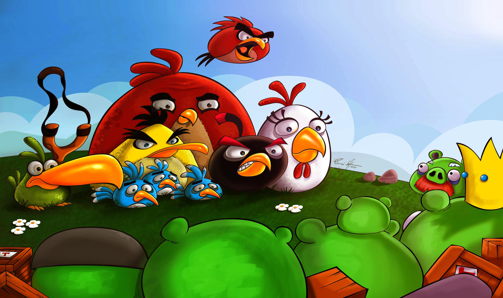 Angry Birds by vp021