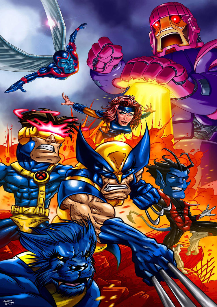 Xmen Caricature :-) by vp021
