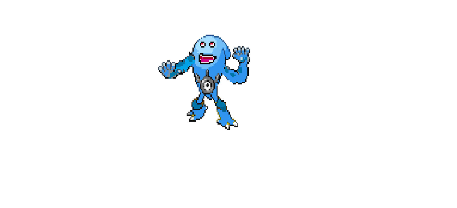 Pixel Pokemon Sprite Idea 2 By Maxthecoolguy On Deviantart
