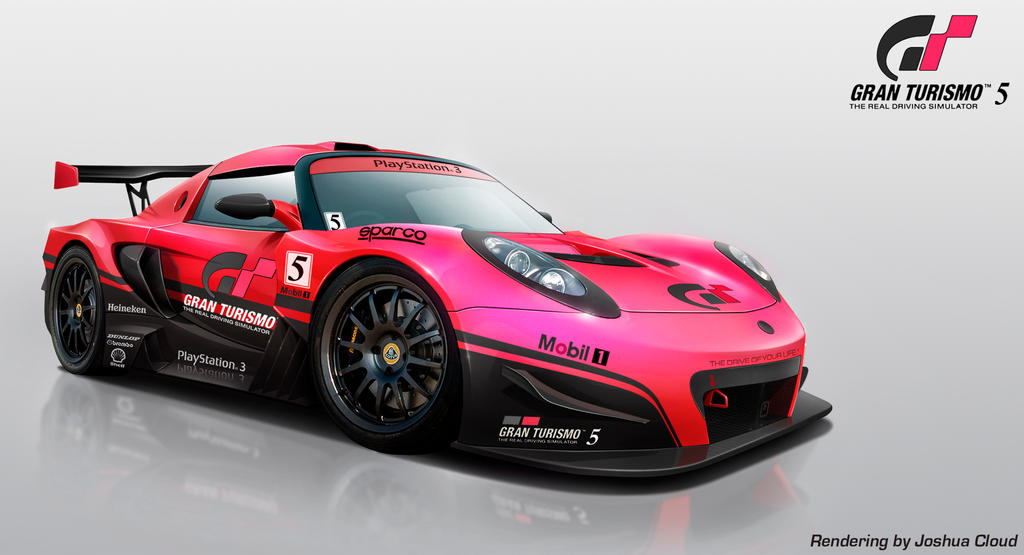 lotus exige gran turismo by gurnade on deviantart. Black Bedroom Furniture Sets. Home Design Ideas