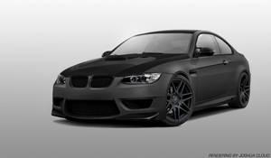 Matte Grey BMW M3